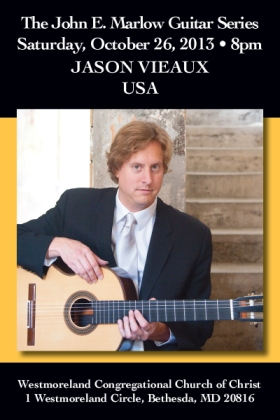 Postcard: Classical Guitarist Jason Vieaux