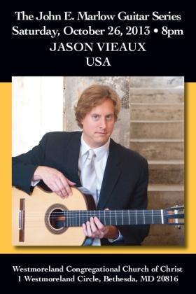 Postcard: Classical Guitarist Jason Vieaux