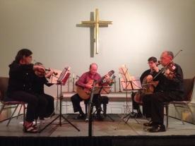 Carlos Barbosa-Lima, Sunshine String Quartet