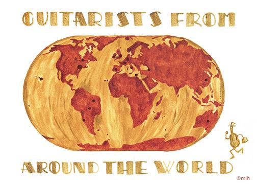 GuitaristsFromAroundTheWorld