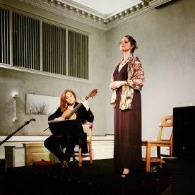 Berta Rojas, guitar, Rebecca Crow Lister, soprano