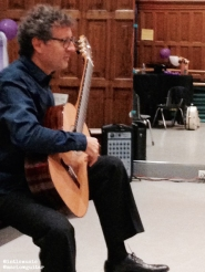 Marco Socias, Classical Guitarist from Spain at the Barbara Ingram School for the Arts, Hagerstown, MD