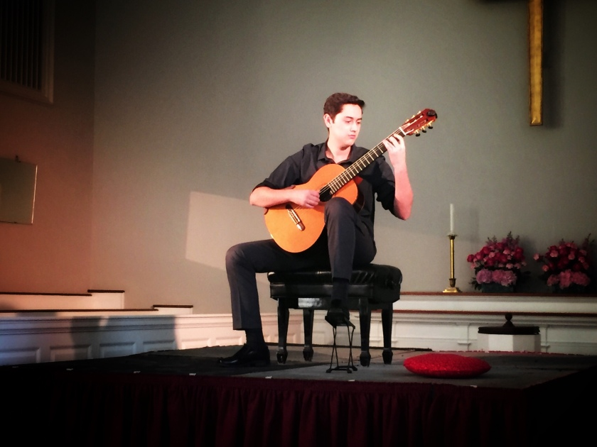 Beatty Music Competition Grand Prize Winner, Carlos Olivares