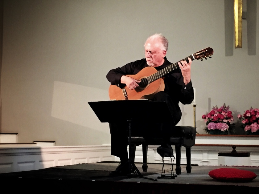 Classical Guitarist Pepe Romero, Spain